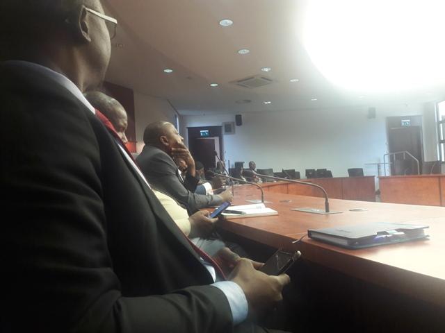Representatives of PFAs at the meeting